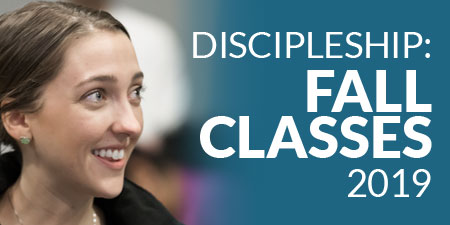 Discipleship Fall Classes